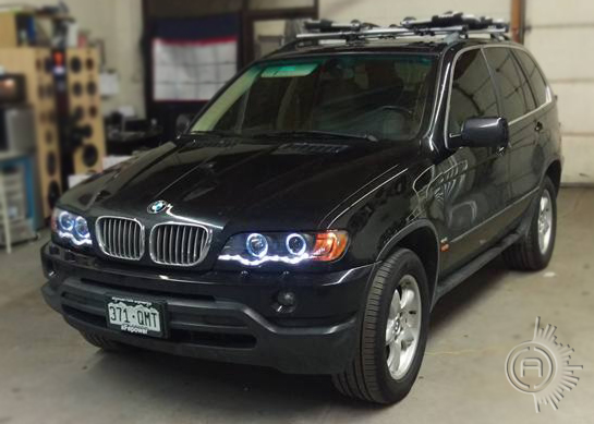 AC Customs BMW X5 Headlight Upgrade
