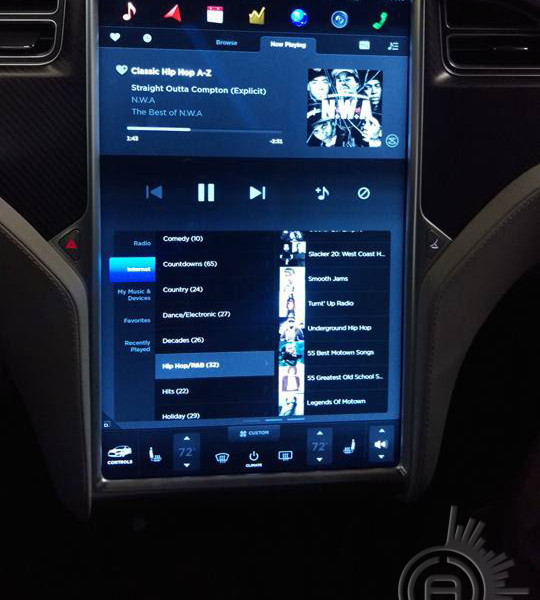 AC Customs Tesla P90D Audio Upgrade
